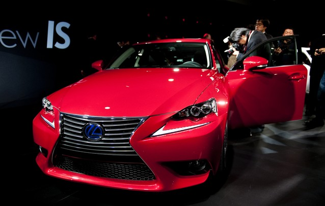 The new Lexus IS is presented at the North American International Auto Show on Tuesday, Jan. 15. Daniel Brenner I AnnArbor.com