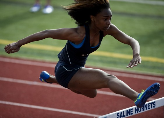 Saline Girls Track One Of The State U0026 39 S Largest  Most