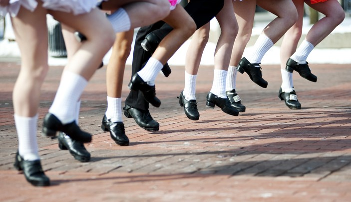 Championship dancing students from the Tim O'Hare's Irish Dance School perform on the Michigan campus during Bash on the Diag on Sunday, March 17. The group will perform in about 15 different locations in Ann Arbor, Livonia, and Novi. They are preparing for the World Competition in Boston next week. Daniel Brenner I AnnArbor.com