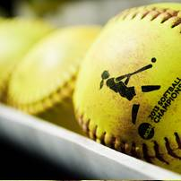 softballs during the game between Michigan and Louisiana-Lafayette on Friday, May 24. Daniel Brenner I AnnArbor.com