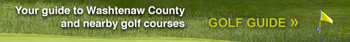 Your guide to Washtenaw County and nearby golf courses »